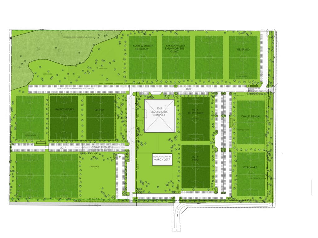 Field and Parking Map